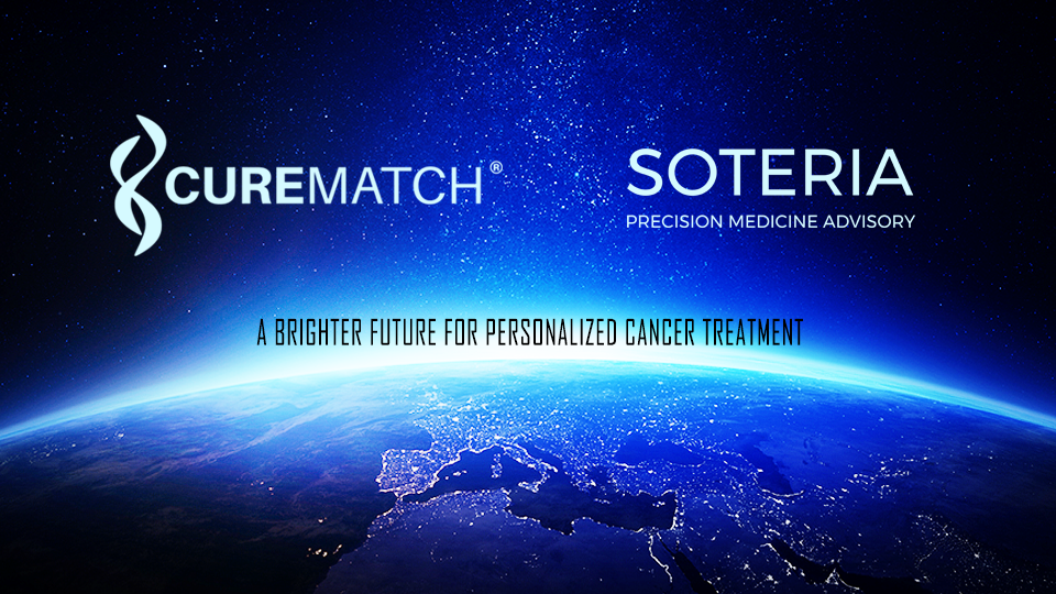 SOTERIA and CureMatch Partner to Support Oncologists with Personalized Cancer Treatment Options