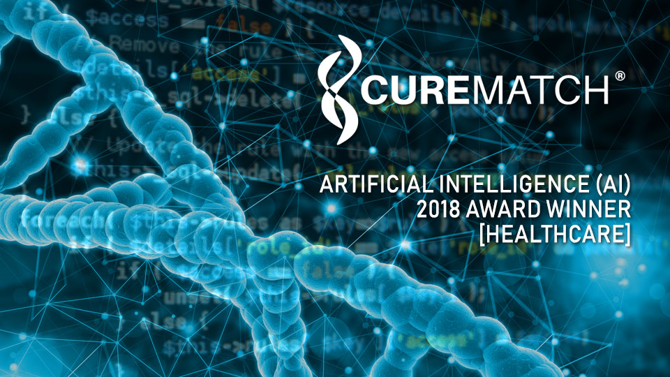 CureMatch Recognized as Best Artificial Intelligence (AI) Company in Healthcare