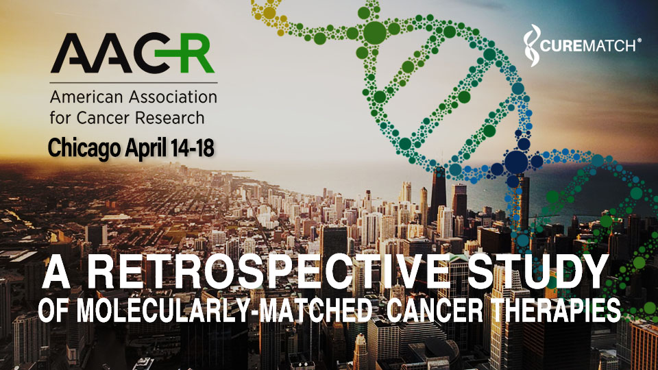 CureMatch Presents PreciGENE Performance Results at AACR Annual Meeting